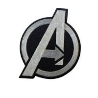 Avengers Agents of Shield Geborduurde zilveren patch met klittenband