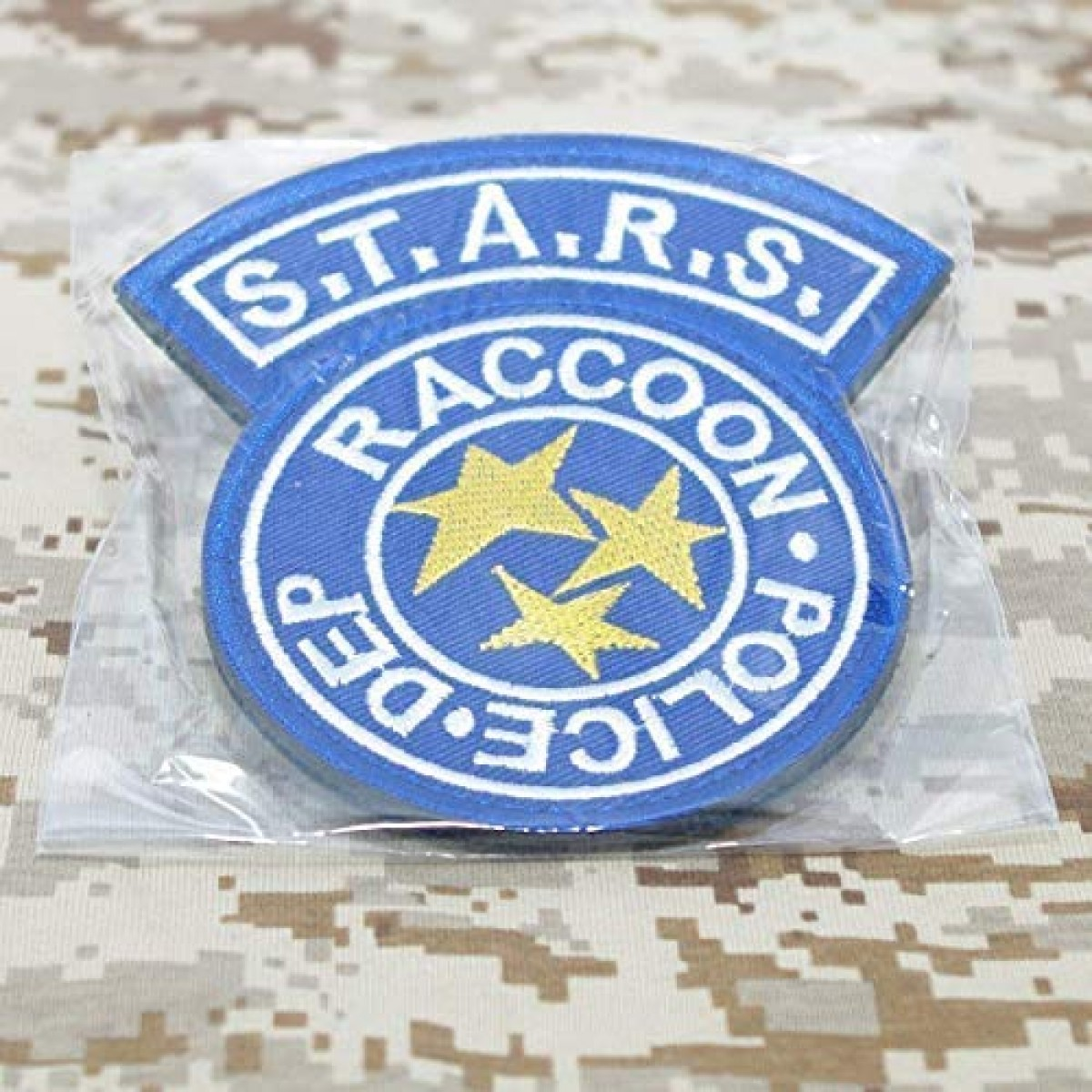 STARS Resident Evil Raccoon Ecusson Broder Patch