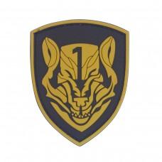 Medal of Honor MOH Wolfpack bruine PVC patch met velcro