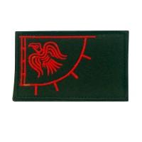Odin's Raven Viking Geborduurde patch met klittenband
