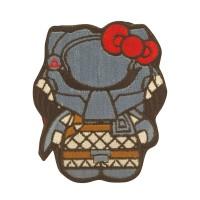 Predator Kitty Superhero and Villains Geborduurde Cosplay Patch met klittenband