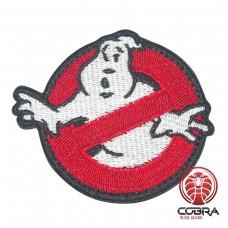 Ghostbusters geborduurde Airsoft Cosplay Patch met klittenband