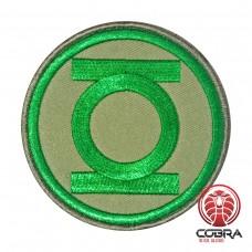 DC Comics Green Lantern Geborduurde film Patch met klittenband