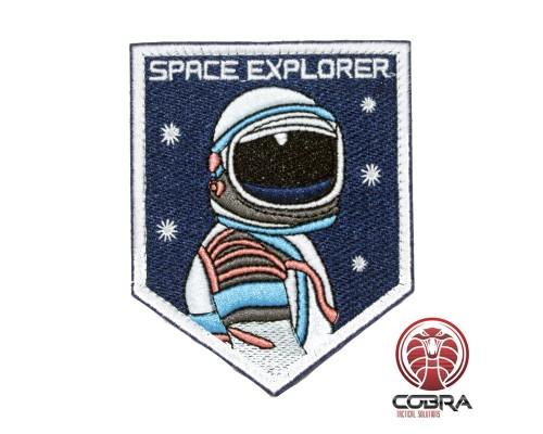 Space Explorer Astronaut Nasa geborduurde patch met velcro