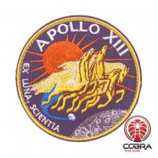 Apollo XIII Ex Luna Scientia Nasa geborduurde patch met velcro