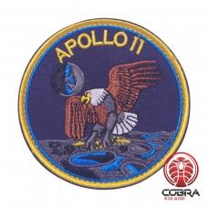 Apollo 11 Nasa geborduurde patch met velcro