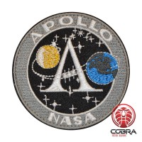 Apollo Nasa Program Nasa geborduurde patch met velcro