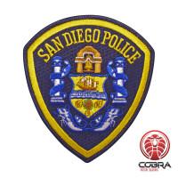 San Diego Police geborduurde patch | Strijkpatches | Military Airsoft