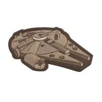 Millennium Falcon Star Wars Cosplay Geborduurde Patch met klittenband