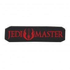 Jedi Master Star Wars Geborduurde Cosplay Zwart / Rode Patch met klittenband