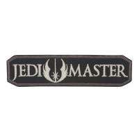 Jedi Master Star Wars Geborduurde Cosplay Zwart / Witte Patch met klittenband