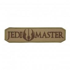 Jedi Master Star Wars Geborduurde Cosplay Bruine Patch met klittenband