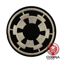Star Wars Imperial Force Cosplay geborduurde patch met velcro