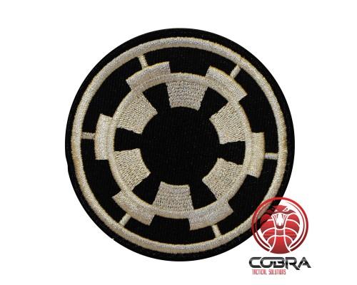 Star Wars Imperial Force Cosplay geborduurde patch met velcro