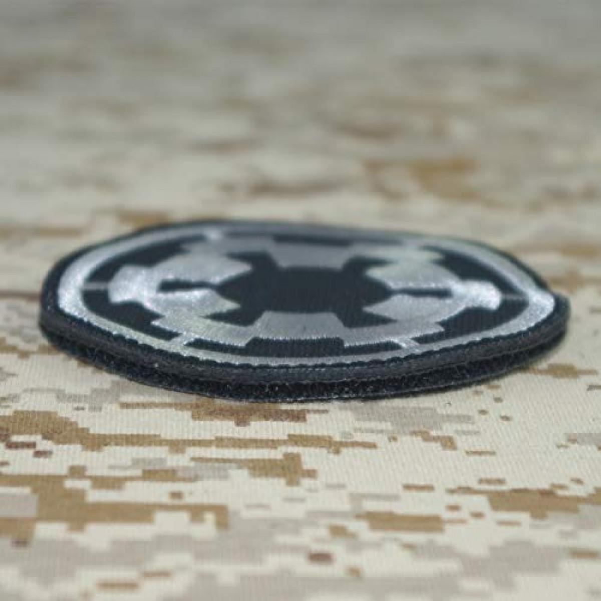 Forces Star Wars Imperial Brillent dans le Noir Airsoft PVC Patch