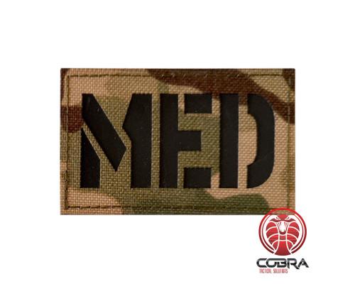 MED Geborduurde militaire Patch met klittenband