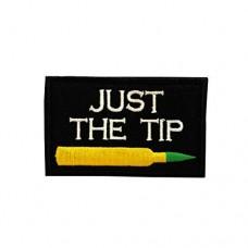 Just The Tip Sniper geborduurde patch met klittenband