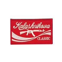 Kalashnikova Classic AK47 AK74 Kalashnik geborduurde patch met klittenband