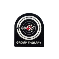 Group Therapy Geborduurde patch met klittenband