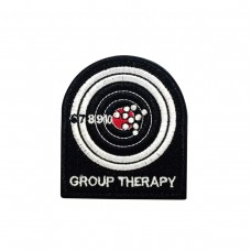Group Therapy Geborduurde patch met klittenband