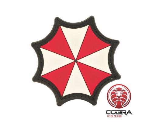 Umbrella Corporation Logo - Umbrella - Resident Evil 3D PVC film Patch met klittenband