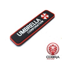 Umbrella Corporation Logo - Resident Evil 3D PVC Patch met velcro