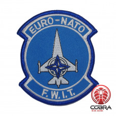 Euro-Nato F.W.I.T geborduurde patch | Strijkpatches | Military Airsoft