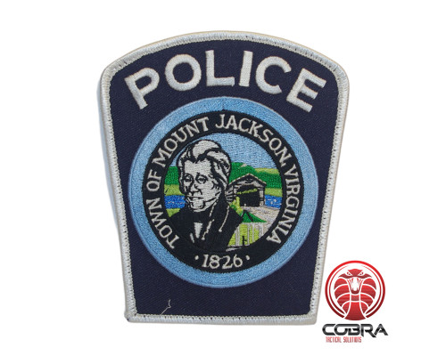 Town of Mount Jackson Virginia geborduurde patch | Strijkpatches | Military Airsoft