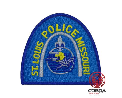 St. Louis Police Missouri geborduurde patch   Strijkpatches   Military Airsoft