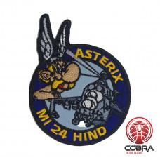 MI 24 HIND Asterix Airforce met klittenband