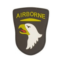 Airborne Eagle PVC Military Patch met klittenband