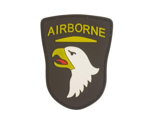 Airborne Eagle PVC Military Patch met klittenband
