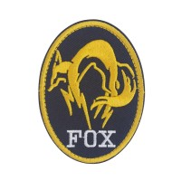 XOF Foxhound Special Force Group Metal Gear Solid patch met velcro