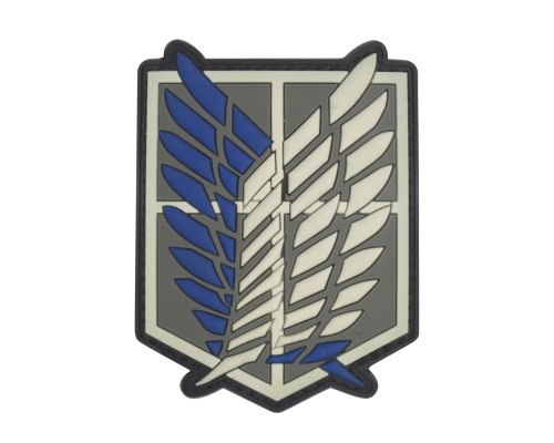 Shingeki No Kyojin Attack Titan Recon Corps PVC Patch met klittenband