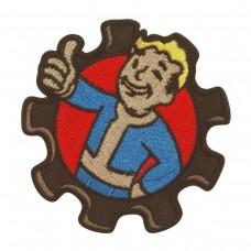 Vault Boy Fallout Geborduurde militaire Patch met klittenband