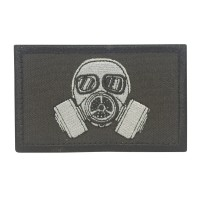 Biohazard Gas Masker Cosplay Patch met klittenband