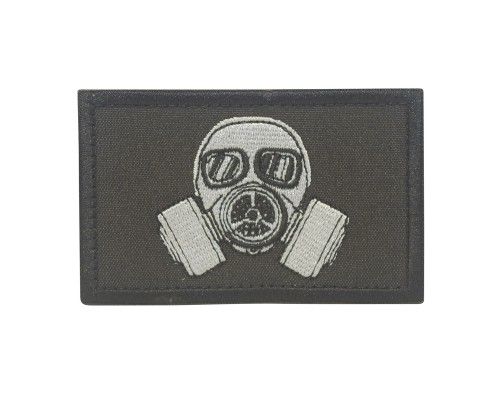 Biohazard Gas Masker Cosplay Patch met klittenband