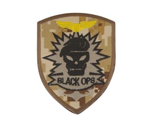 Black OPS Desert Digital Camo Geborduurde patch met klittenband