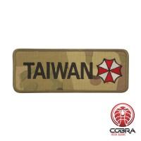 Patch Resident Evil Taiwan Cosplay Geborduurde camo patch met velcro