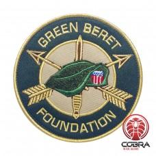 Green Beret Foundation Geborduurde militaire Patch met klittenband