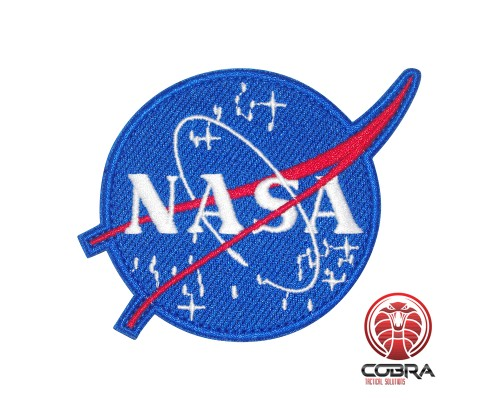 NASA geborduurde Patch Airsoft Cosplay Patch met klittenband