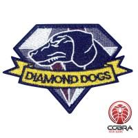 Diamond Dogs Logo - Metal Gear Solid V:The Phantom Pain Geborduurde Patch met klittenband