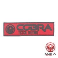 COBRA Tactical Solutions Promo PVC Patch 7,5 x 2,0 cm met velcro