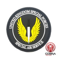 United Kingdom Special Forces Special Air Service militaire PVC Patch met klittenband