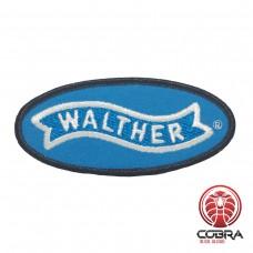 Carl Walther Sportwaffen geborduurde rode patch | Strijkpatches | Military Airsoft
