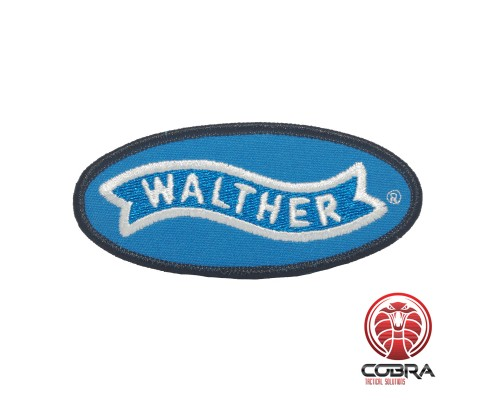 Carl Walther Sportwaffen geborduurde rode patch   Strijkpatches   Military Airsoft