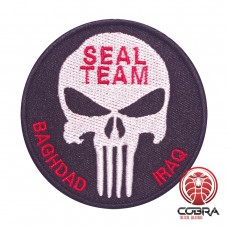 Seal team Baghdad Iraq geborduurde militaire patch met velcro