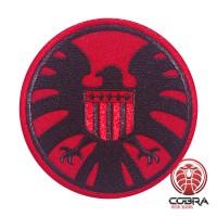 AVENGERS S.H.I.E.L.D. PATCH USA flag rode geborduurde film patch met velcro