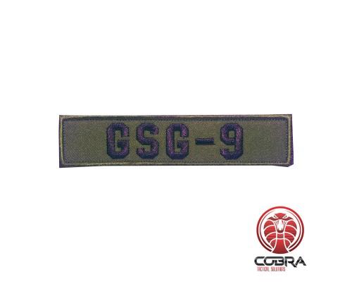 GSG-9 geborduurde politie patch met velcro