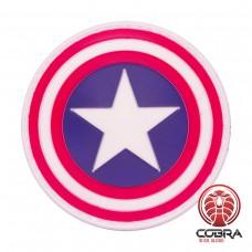 Captain America shield Avengers film cosplay PVC patch met velcro